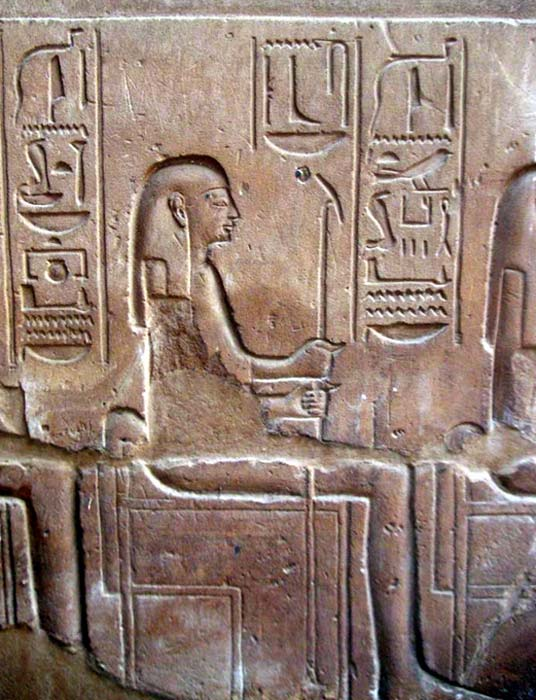 Relieve de Urethekau, reinado de Ramsés II (CC BY 3.0)