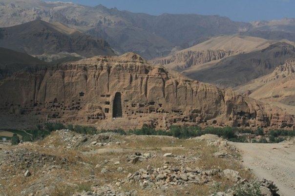 Valle de Bamiyán, Afganistán (Public Domain)
