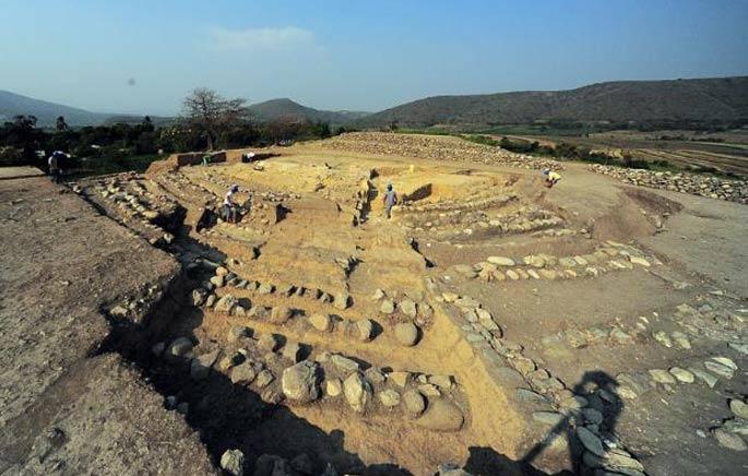 Yacimiento arqueológico de Montegrande, Perú. (forosperu)