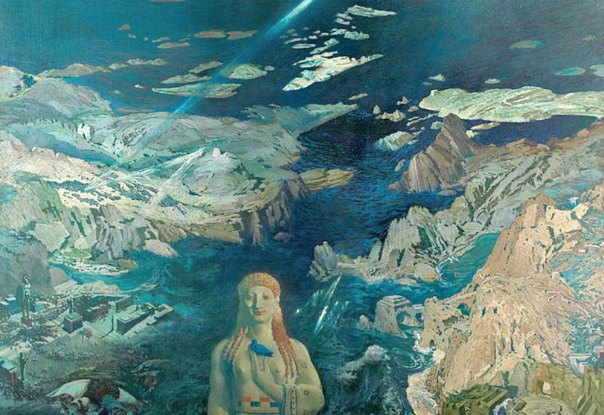"Portada - Detalle del cuadro ""Terror Antiquus"" (1908), óleo del pintor ruso León Baskt (1866 –1924). Museo Estatal Ruso. (Public Domain)"