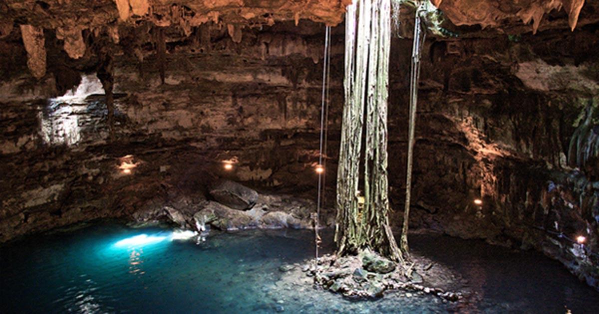 cenote maya Samula