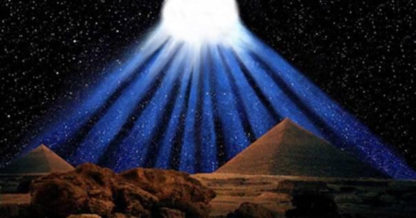 Portada - Recreación artística del espectacular cometa de diez colas registrado por los antiguos egipcios en el año 1486 a. C. (ilustración de Graham Phillips)