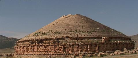 Pirámide bereber de Madghacen