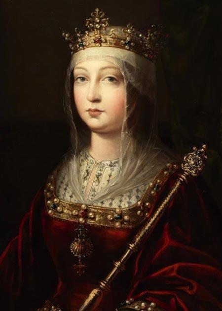 Cuando Isabel I de Castilla ascendió al trono en 1474, ya había varios complots contra ella y estalló la guerra. (Zumalabe / Dominio público)