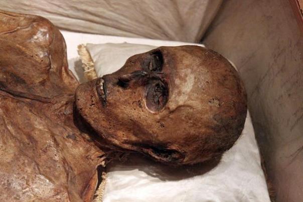 Cuando abrieron el ataud de Kahlbutz, se descubrió que su cuerpo había sido momificado