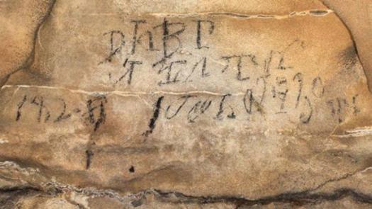 Inscripciones cherokees: este silabario se tradujo como