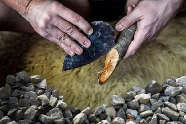 Los neandertales tenían una industria sofisticada de herramientas de piedra. (Andy Ilmberger / Adobe)
