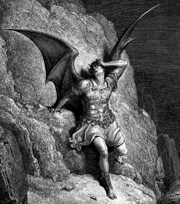 Satanás, a quien los cátaros creían que era el Dios del Antiguo Testamento. (Dencey / Dominio público)