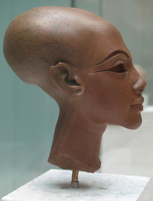 A bust said to be of an Amarna Princess