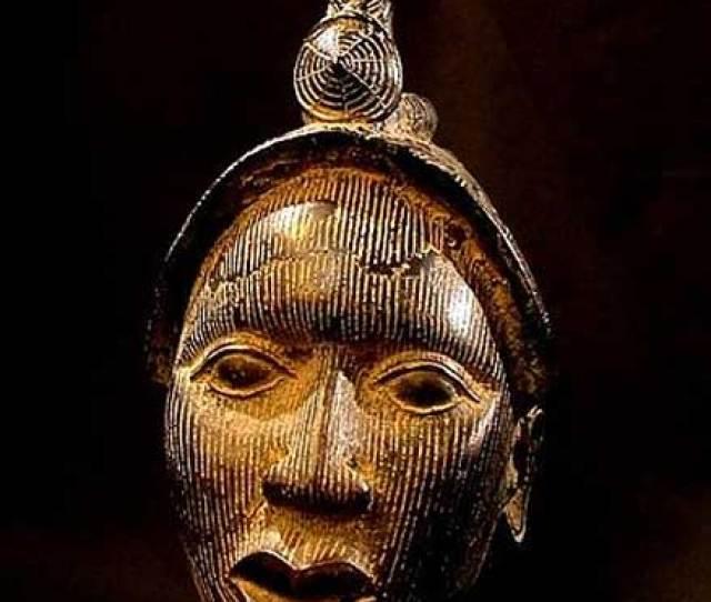 Benin Bronze Ife Bust