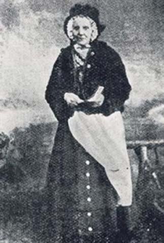 Естер Фаа Блайт була королевою циган Єтгольма після смерті її батька Чарльза Фаа Бліта в 1861 році. (Шотландські цигани Шотландії)