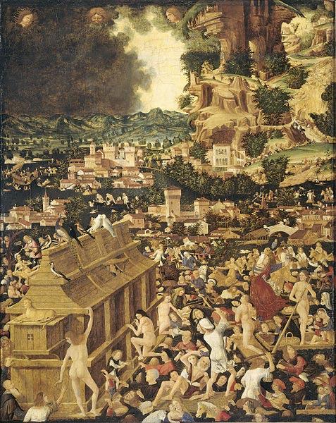La gran inundación (circa 1450)