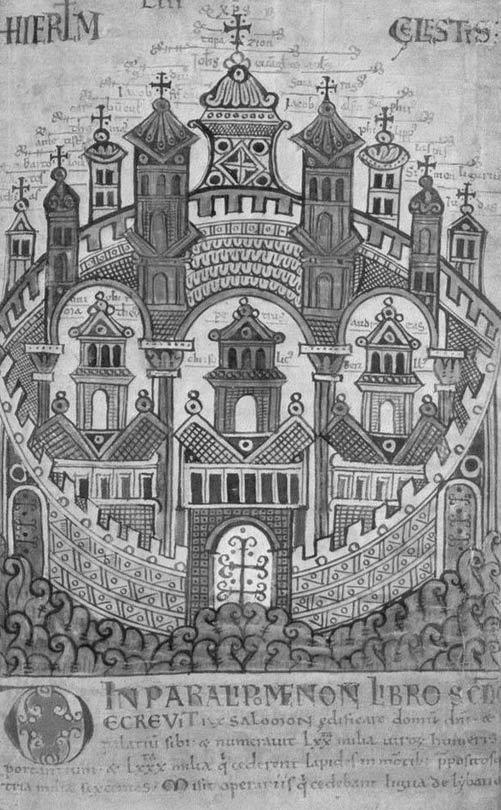 Copy of the 'Heavenly Jerusalem.'