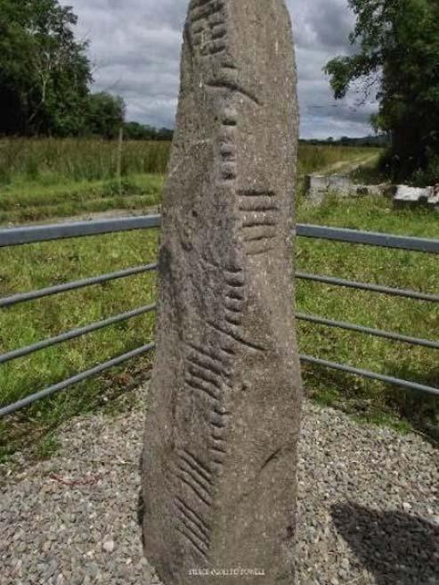 Ogham in Ireland – Credit: MegalithicMonumentsOfIreland (Author provided)