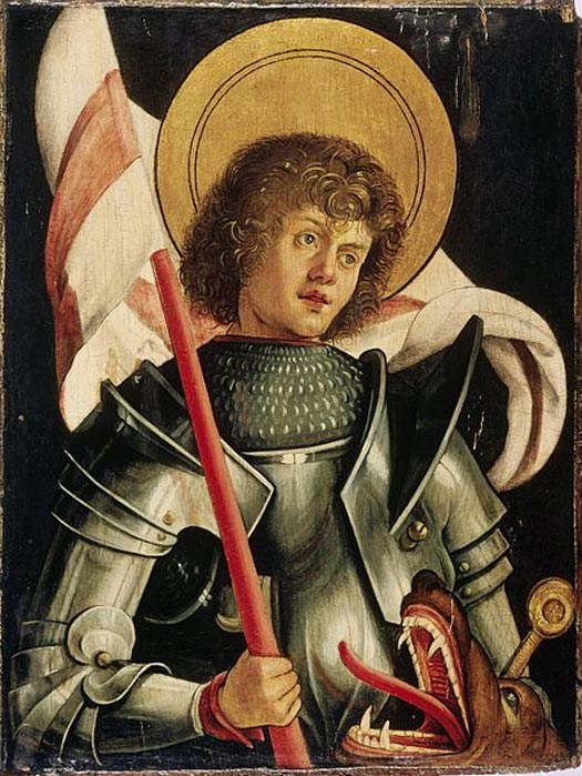 Portrait of St. George by Hans von Kulmbach, circa 1510.