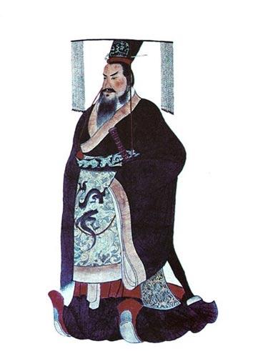 Qin Shi Huang, el primer emperador de China.
