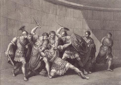 Image result for caligula assassinated
