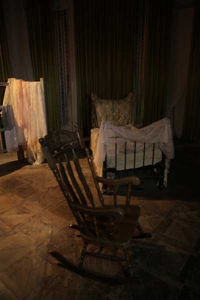 La pièce du Loftus Hall où Anne Tottenham aurait été enfermée.