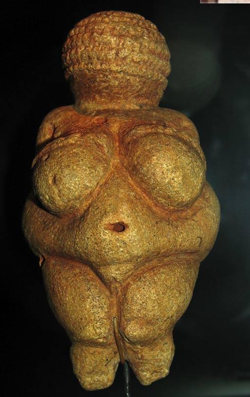 La Venere di Willendorf, statuetta trovata in Austria, si ritiene sia stato fatto 28.000 e 25.000 aC.
