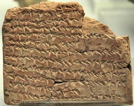A Babylonian almanac