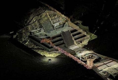 Ancient Tunnel Under Teotihuacan May Lead To Royal Tombs