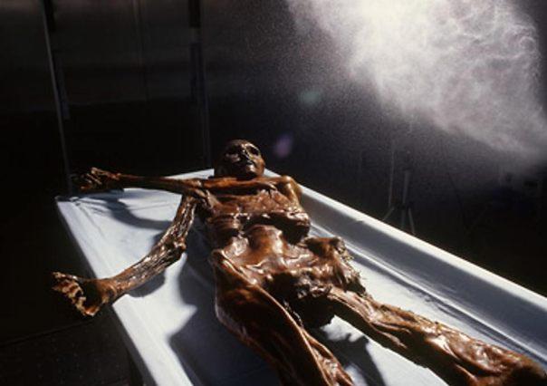 Conservación de Ötzi, el Hombre de Hielo.