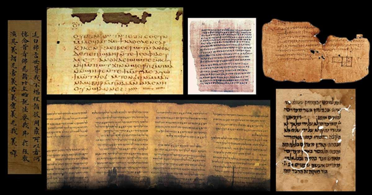 Resultado de imagem para ancient and modern documents