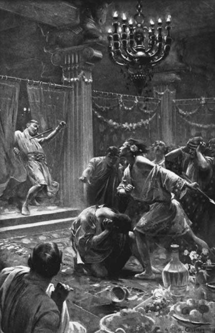 El asesinato de Clito, André 1898-1899 Castaigne