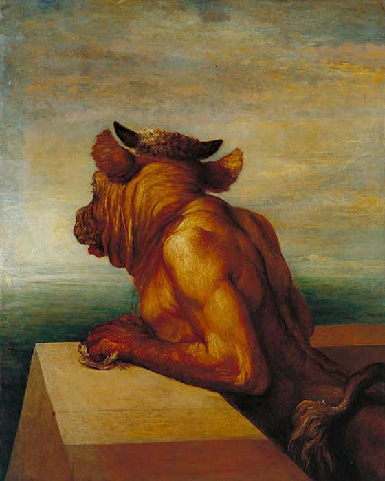 Is the quinotaur just a misspelling of minotaur (pictured)?