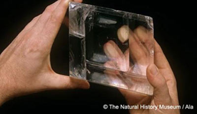 Mythical sunstone used as ancient navigational device
