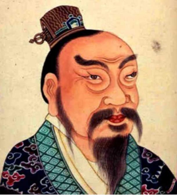 Представлення Лю Банга 18 століття як імператора Гаодзу Ханьського.