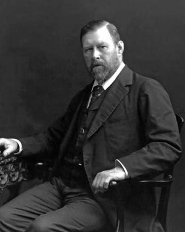 Much academic debate surrounds the true inspiration for Bram Stoker's Dracula. Portrait of Bram Stoker, 1906