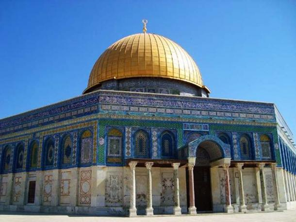 The Dome of the Rock, Temple Mount, Jerusalem.