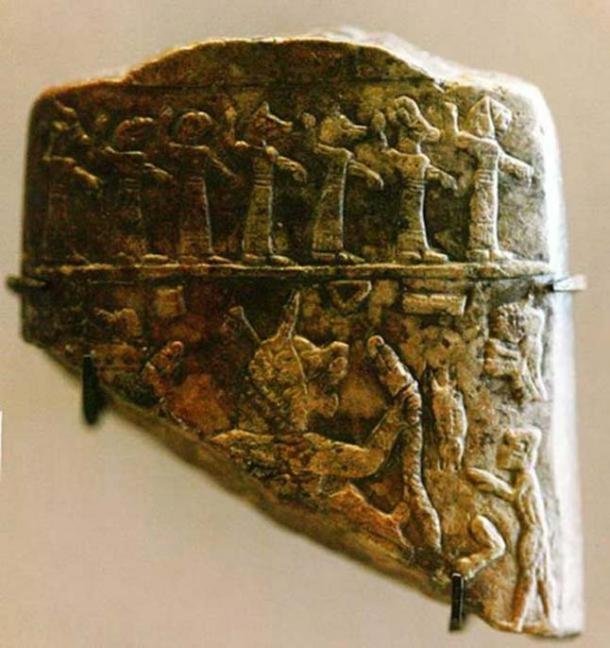 Fragment de talisman utilisé pour exorciser l'ère assyrienne malade.  (Rama / CC BY SA 2.0)