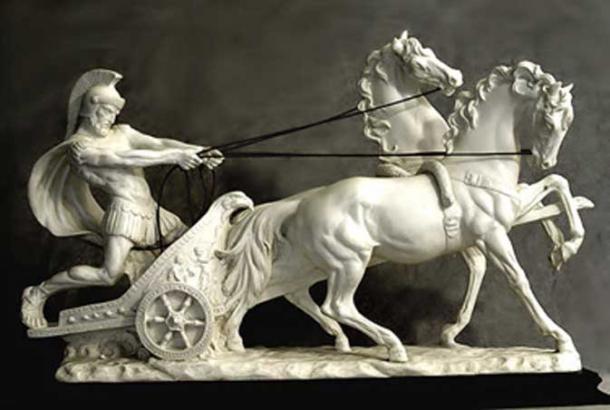 A statue of Gaius Appuleius Diocles