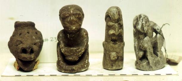 Human animal Nomoli statues - El desconocido orígen de las misteriosas figuras Nomoli