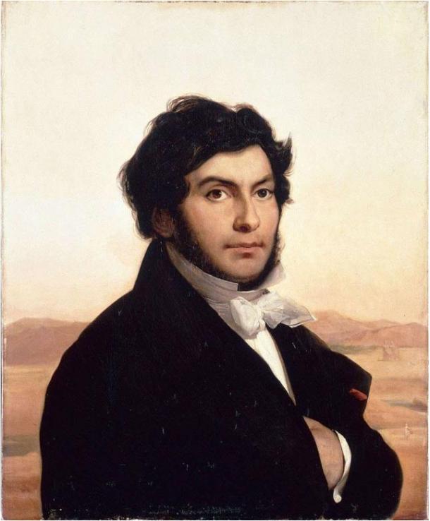 Portrati di Leon Cogniet di Jean-Francois Champollion