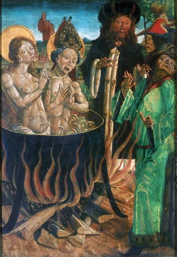 El martirio de Cipriano y Justina