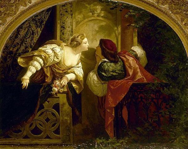 'Romeo and Juliet' by Henri-Pierre Picou.