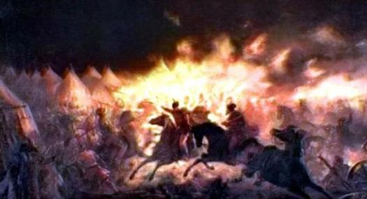 Scorched earth tactics, or burning anything useful to the enemy while withdrawing, was an effective military strategy.
