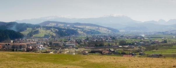 vSkyline de Buzaului Montaña.