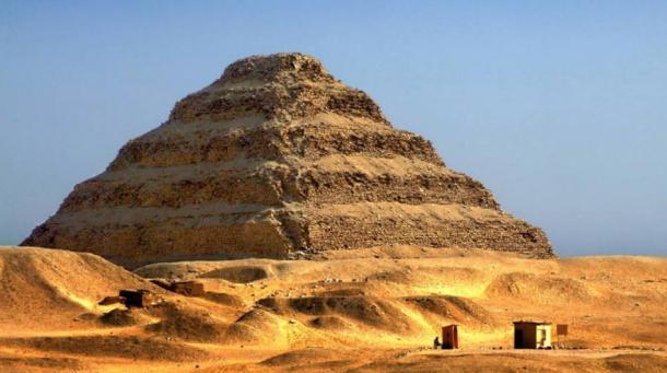 Step Pyramid of Djoser a Saqqara