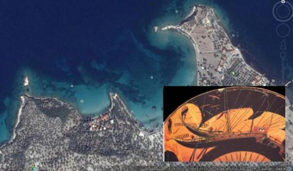 Los investigadores localizar Sumergido perdida antigua de la ciudad cuando Atenas y Esparta se enfrentaron en una batalla