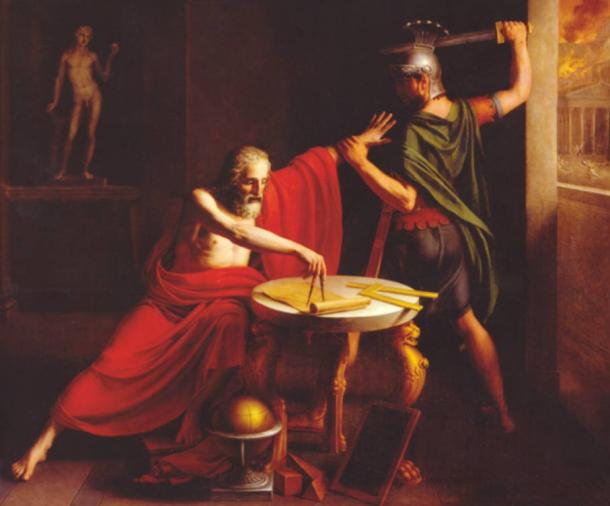 The Death of Archimedes by Thomas Degeorge