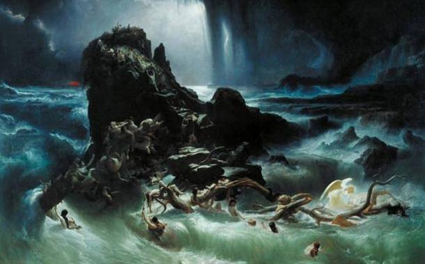 'Il Diluvio' di Francis Danby, 1840.