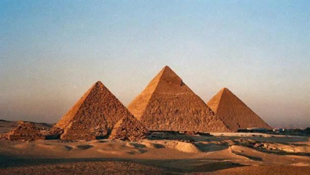 Le Piramidi di Giza.