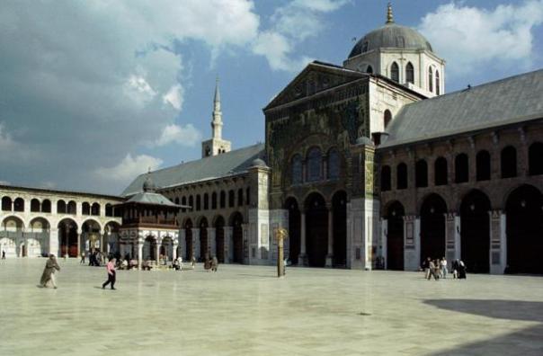 La Mezquita de los Omeyas - La Cúpula del Águila (Qubbat Al-Nisr), Damasco