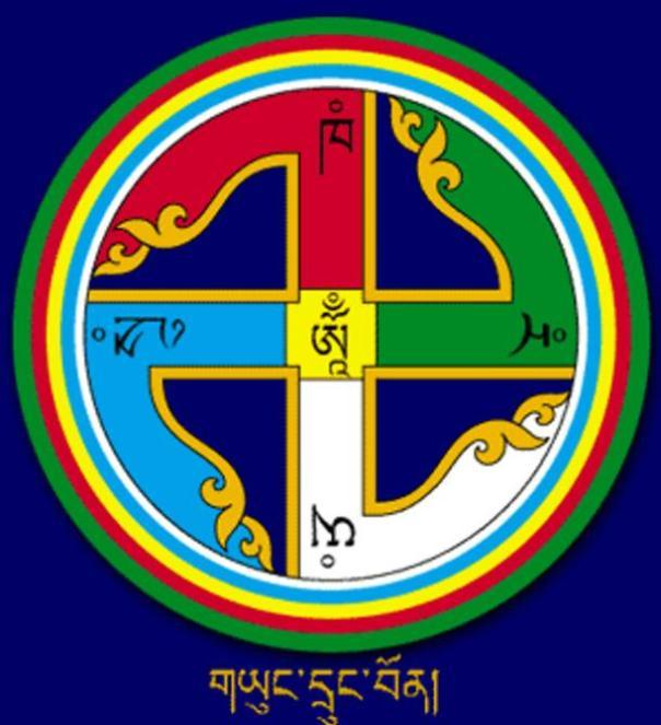 La esvástica es un símbolo de la religión Bon.
