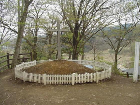 """Tomb of Christ"" (Shingo, Aomori, Japan)."