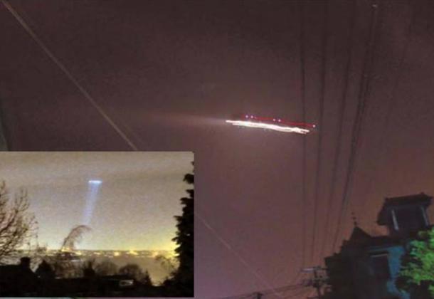 Xiaoshan Airport UFO Incident, China